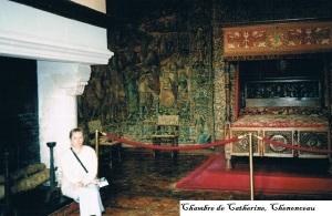 Ch5 - Chambre de Catherine de Medicis, Chenonceau